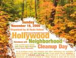 Neighborhood Cleanup, November 16, 2008